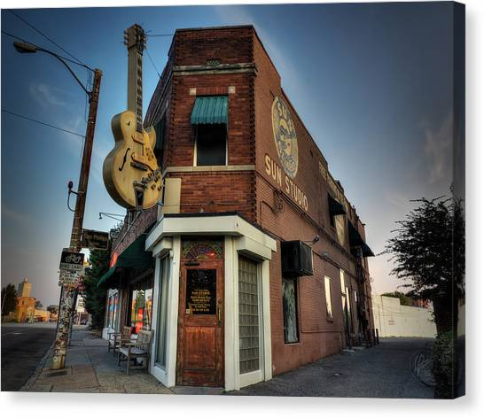 The Legendary Sun Studio 002 Canvas Print