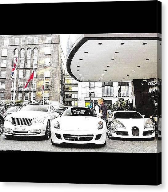 Ferrari Canvas Print - The Life #maybach #ferrari #bugatti by Exotic Rides