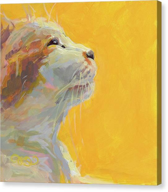 Lavendar Canvas Print - The Light by Kimberly Santini