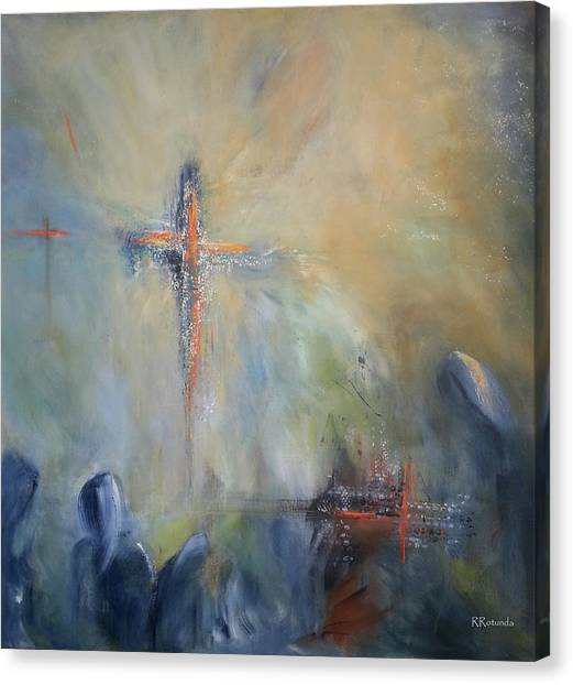 The Light Of Christ Canvas Print