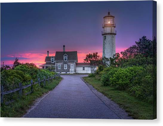 The Light Of Coming Dawn Canvas Print