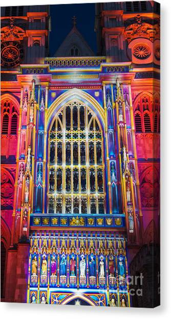 Westminster Abbey Canvas Print - The Light Of The Spirit Westminster Abbey London by Tim Gainey