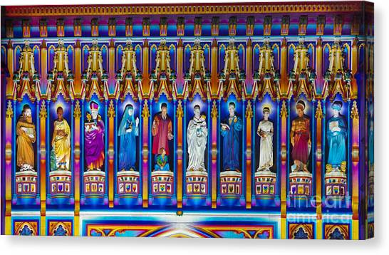 Westminster Abbey Canvas Print - The Light Of The Spirit Westminster Abbey by Tim Gainey