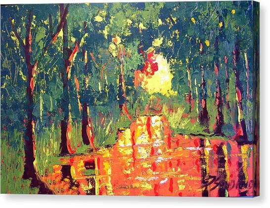 The Light Canvas Print by Paul Sandilands