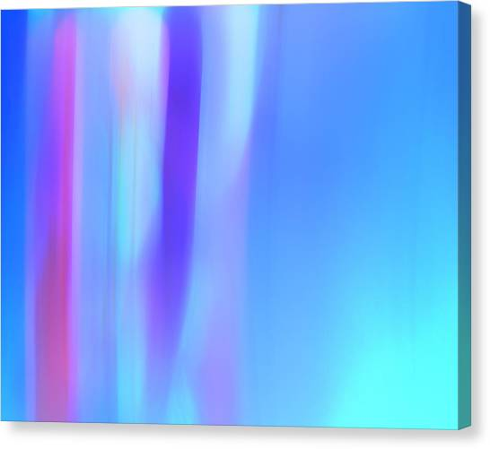 The Light Side Of The Blue Canvas Print by Monica Palermo