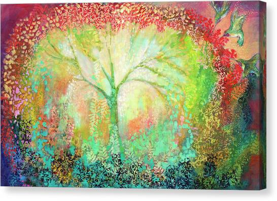 Spiritual Canvas Print - The Light Within by Jennifer Lommers