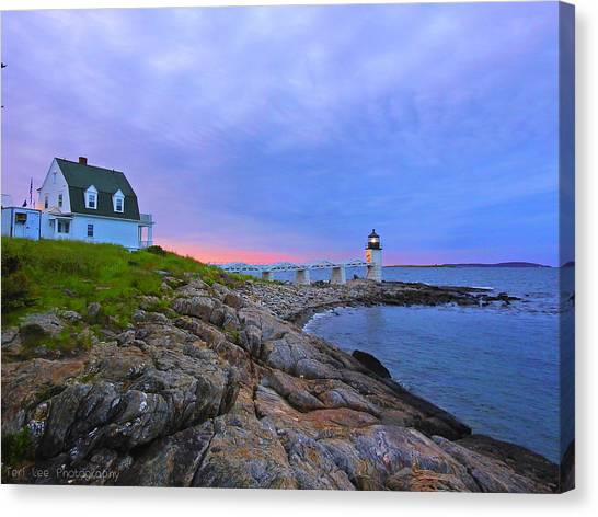The Lighthouse Keeper Canvas Print