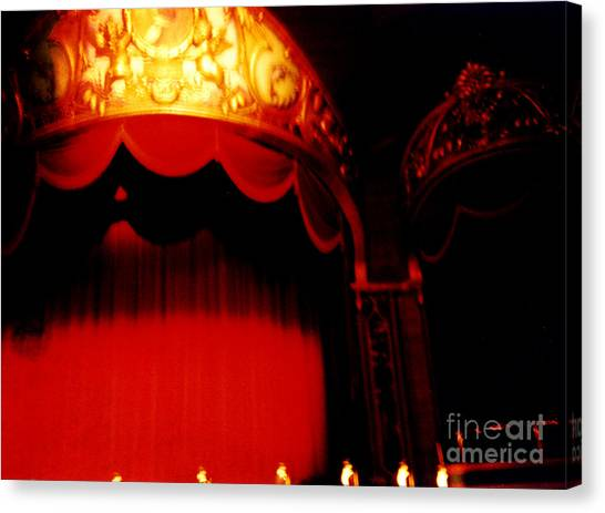 The Lights Go Down... Canvas Print by Jason Williams