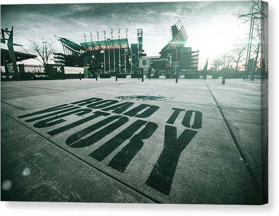 Lincoln Financial Field Canvas Prints Fine Art America