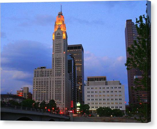 The Lincoln Leveque Tower Canvas Print