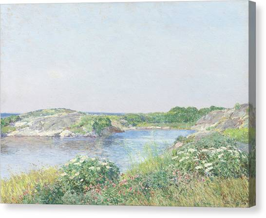 Summer Isles Canvas Print - The Little Pond, Appledore by Childe Hassam