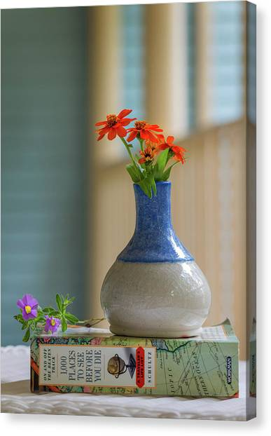 The Little Vase Canvas Print