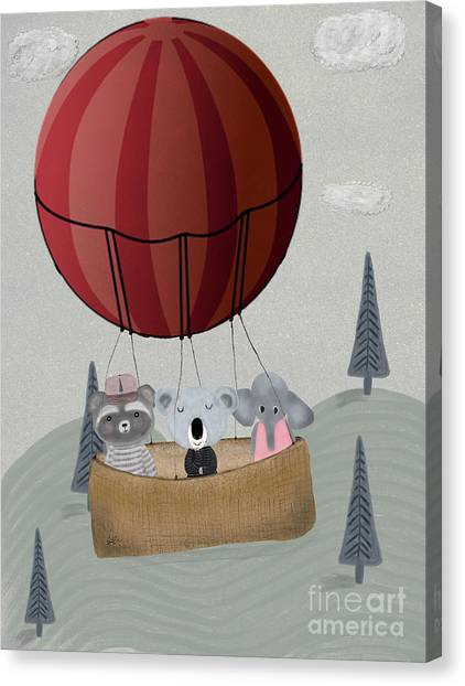 Koala Canvas Print - The Littlest Adventure by Bleu Bri