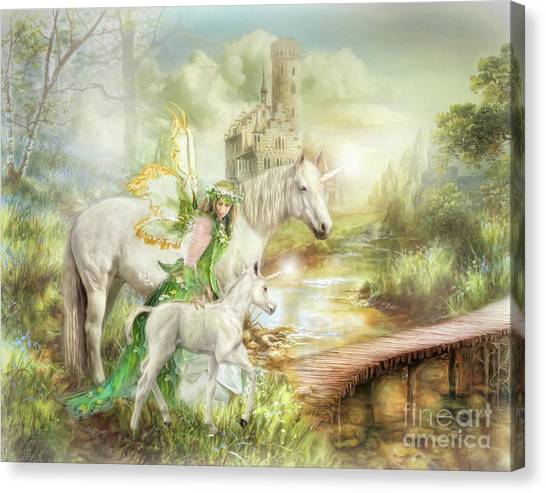 The Littlest Unicorn Canvas Print