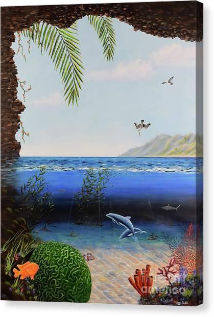 The Living Ocean Canvas Print