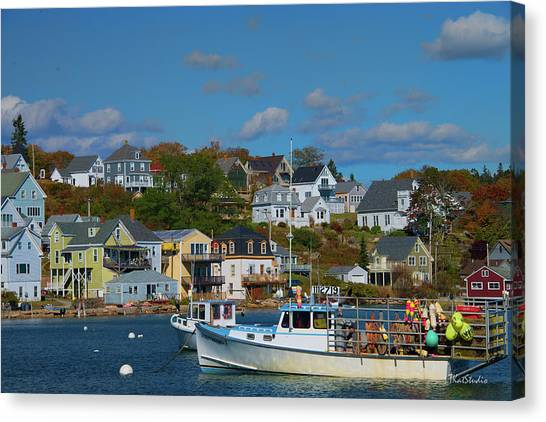 The Lobsterman's Shop Canvas Print