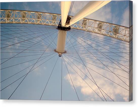 The London Eye Canvas Print by Iain MacVinish