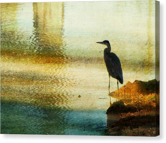 Impressionistic Canvas Print - The Lonely Hunter II by Amy Tyler