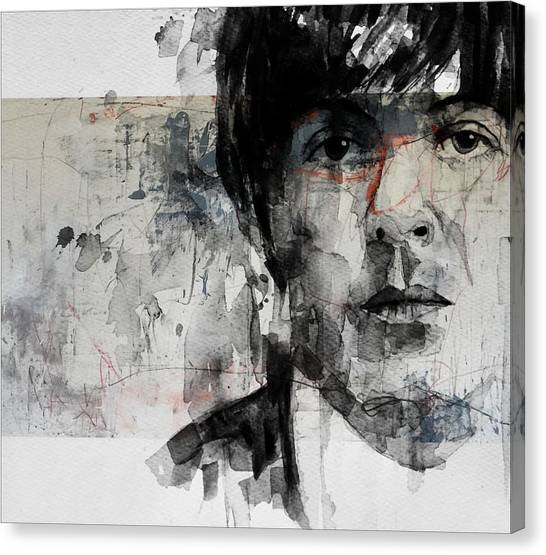 The Beatles Canvas Print - The Long And Winding Road  by Paul Lovering