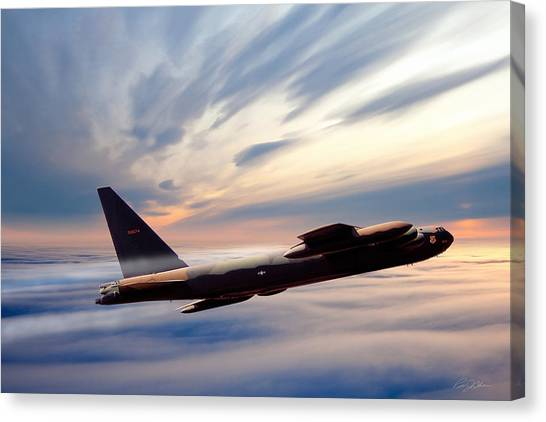 Linebackers Canvas Print - The Long Goodbye 674 by Peter Chilelli