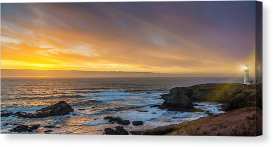 The Long View Canvas Print
