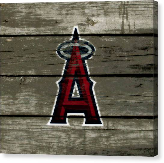 Reggie White Canvas Print - The Los Angeles Angels Of Anaheim 1a by Brian Reaves