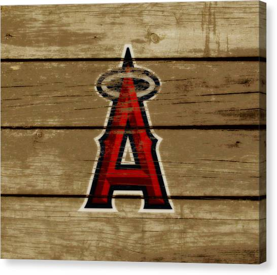 Reggie White Canvas Print - The Los Angeles Angels Of Anaheim by Brian Reaves