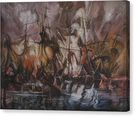 The Lost Armada IIi Canvas Print