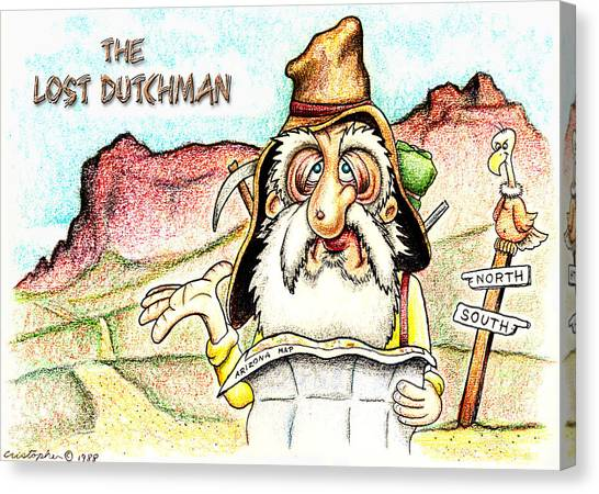 The Lost Dutchman Canvas Print
