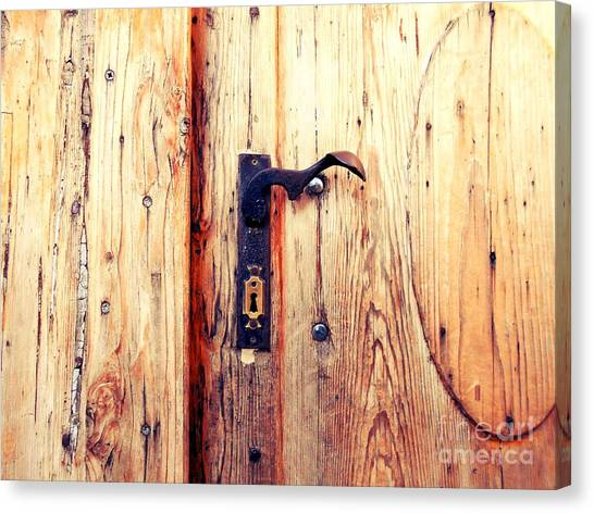 The Lovely Door Handle Canvas Print