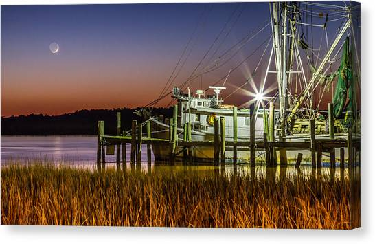 The Low Country Way - Folly Beach Sc Canvas Print