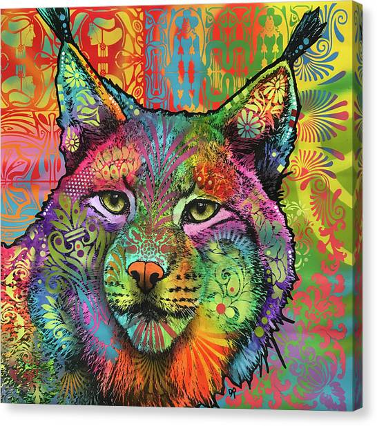 The Lynx Canvas Print by Dean Russo Art