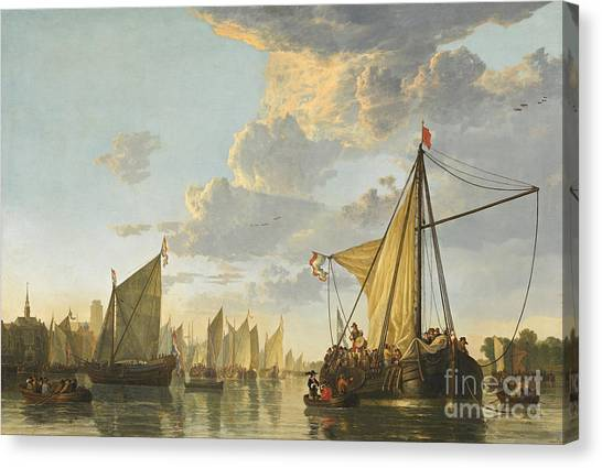 Maas Canvas Print - the Maas River by Celestial Images