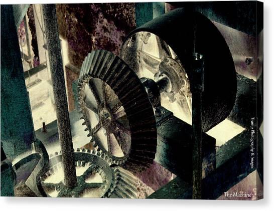 The Machine Canvas Print