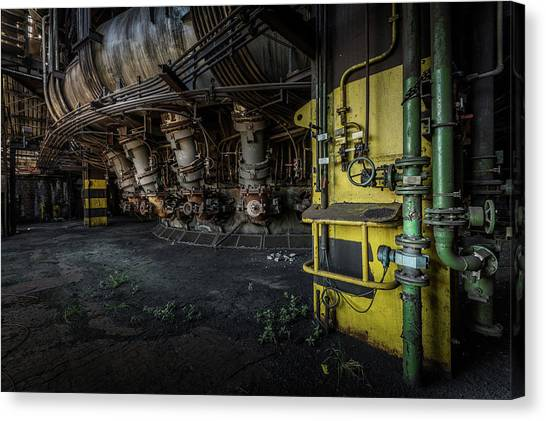The Machinist Canvas Print