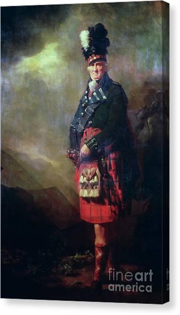 Scotch Canvas Print - The Macnab by Sir Henry Raeburn
