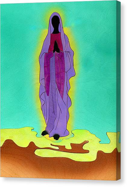 The Madonna Canvas Print