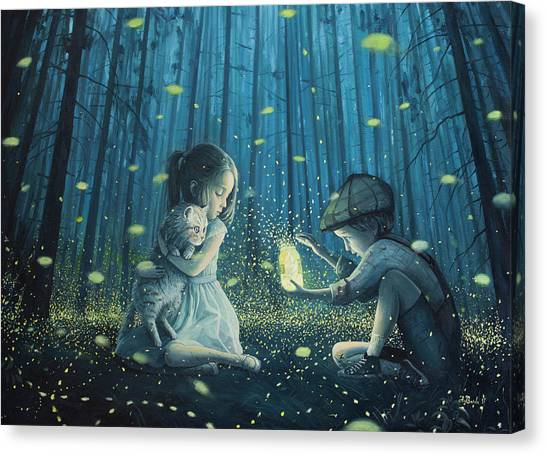 Sublime Canvas Print - The Magic Lantern by Adrian Borda