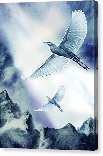 The Magic Of Flight Canvas Print