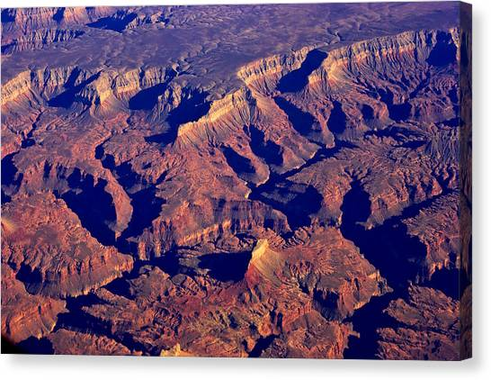 The Magnificient Grand Canyon Canvas Print