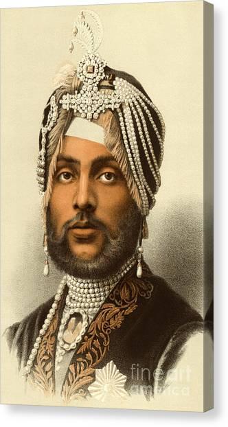 Sikh Canvas Print - The Maharajah Duleep Singh by English School