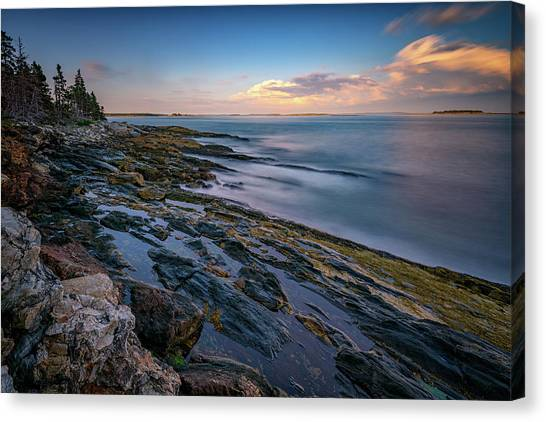 East Village Canvas Print - The Maine Coast by Rick Berk