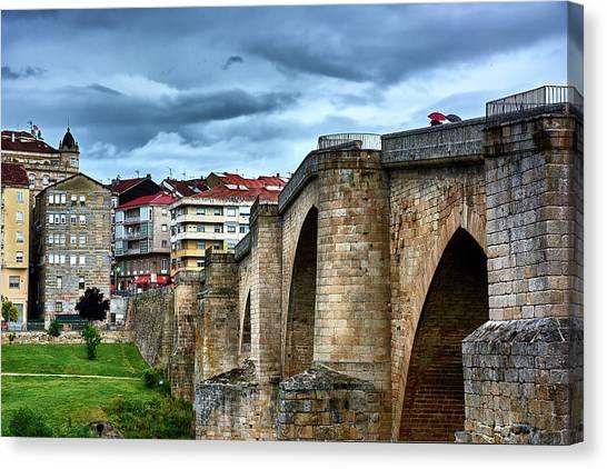 The Majestic Ponte Vella Canvas Print