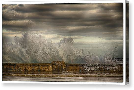 The Malecon Canvas Print