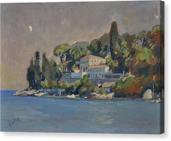 The Mansion House Paxos Canvas Print