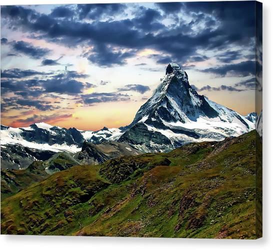 The Matterhorn Canvas Print