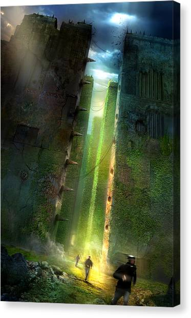 Canvas Print - The Maze Runner by Philip Straub