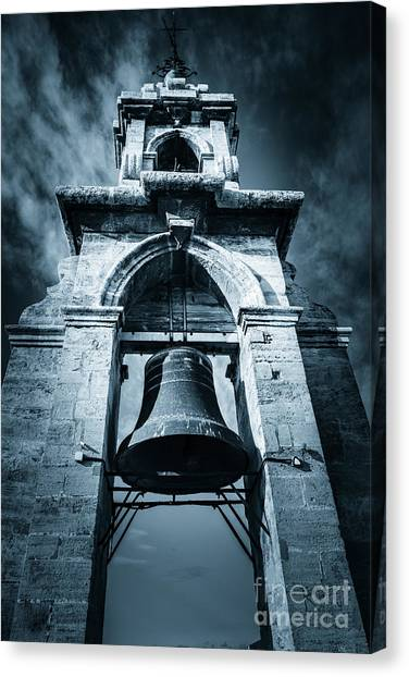 The Miguelete Bell Tower Valencia Spain Canvas Print
