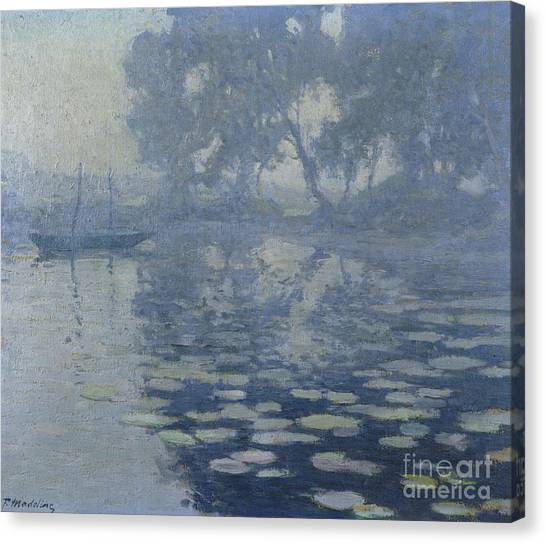 Murky Canvas Print - The Mill Pond by Paul Madeline