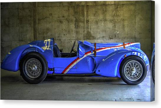 The Million Franc Car Canvas Print